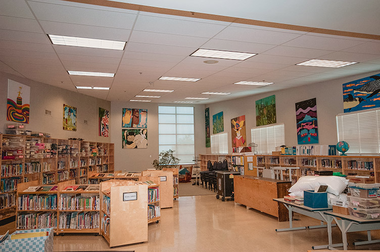 Library Electrical at Somerset Elementary School
